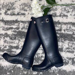 Hunter Original Tall Navy Blue Rain Boots